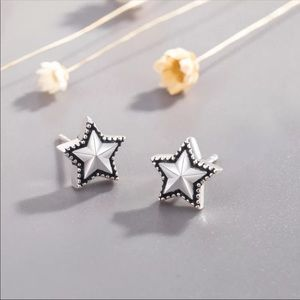 Sterling Silver 925 Star ⭐️ Stud Earrings